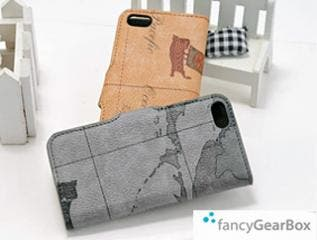 NEW COLOR! iPhone 5 Leather Flip Case with Stand