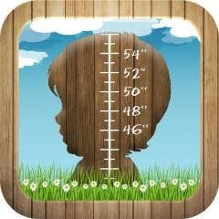 KidsMeasure for iPad Measures and Rewards Child Growth