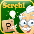Screbl Pal - Easy to use iPhone app finds the best Wordfeud words