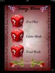 SexyDiceGame adult entertainment for the iPhone