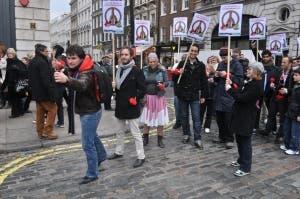 Angry Birds Flash Mob