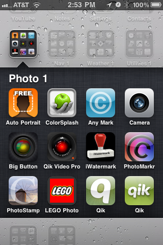 ColorSplash icon in Folder