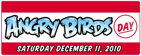 Angry Birds Day 11th Dec