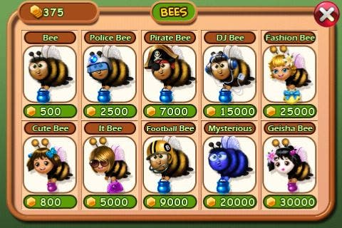 Which Bee Be Yer Pleasure?