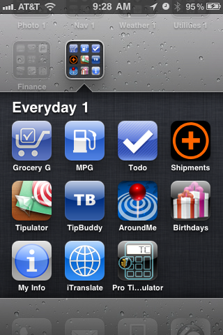 iTranslate Plus icon in a Folder