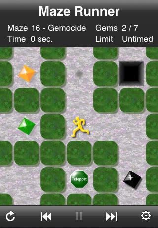 Run, Boy, It's A Maze