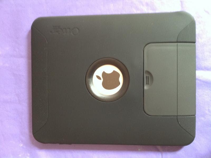 iPad in Defender case