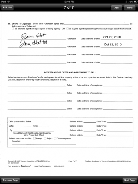 how to fill out a pdf form on ipad