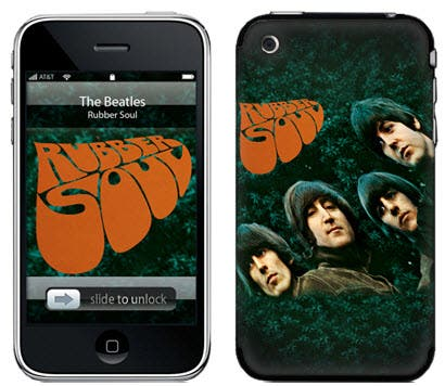 The Beatles Rubber Soul Music Skin