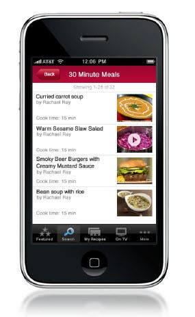 Food Network's new In the Kitchen app is excellent in almost every way.