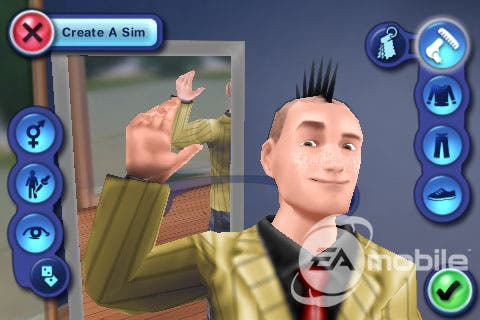 The Sims 3 for iPhone/iPod Touch