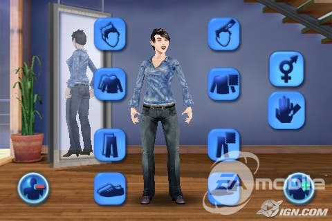 Can you have a baby on the Sims 3 ipod app