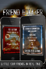 Diamond Profile LLC Unleashes Friend Bomber: A Location Based Social Game for iOS.