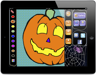 New Halloween Coloring Book for iPhones and iPads goes on sale