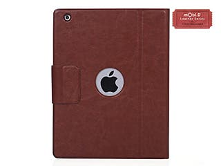 Introducing iPad 2/3 Bluetooth Genuine Leather Keyboard Case with Stand