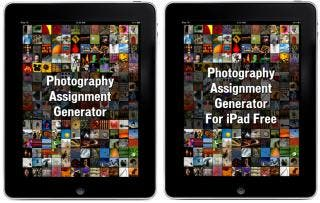 Unique Photography Assignment Generator Apps Released for iPad!