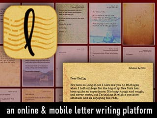 lettrs Emerges as a New Social Network for Letter Writing, Upgrades its iPhone App and Expands to 171 Countries in 9 months