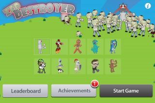 SparkNET Interactive Launches Zed Destroyer Game for iPhone, iPod Touch, and iPad