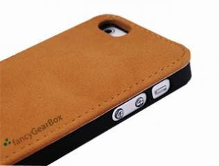 iPhone 5 Leather Flip Case for Everyday Life