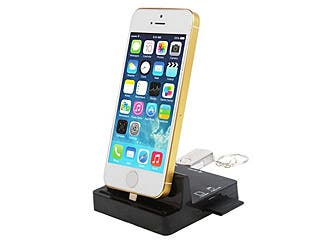 A Multi-Function Dock for iPhone 5 / 5S / 5C has Arrived!