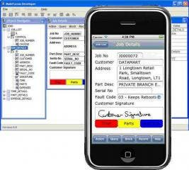 MobiForms Mobile Development Tool Now Supports Apple iPhone, iPad and iPod Touch