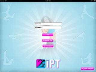 iP.T - The first ipad app for personal trainers.