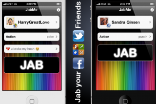 JabMe for iOS - Message your Game Center, Twitter and Facebook friends