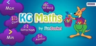 KG Maths by FunBasket, an innovative Math app for kids.