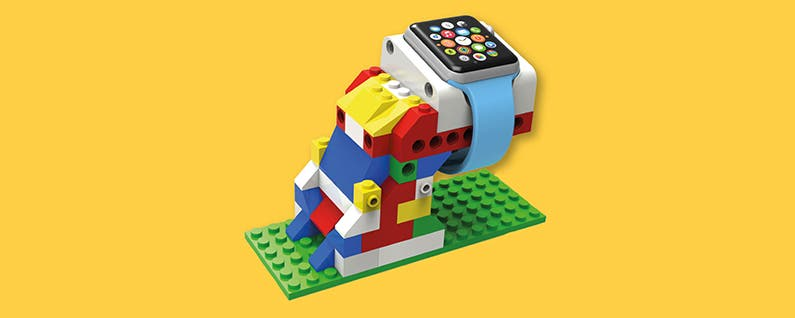 Now You Can Build Your Own Apple Watch Dock with Lego