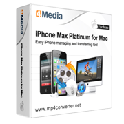 4Media iPhone Max Platinum Released Upgrades to Add Support of CDMA iPhone 4 and iOS 4.3