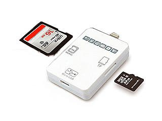 Announcing the Ultimate Card Reader for your iPhone 6 / 6 Plus, iPad Air 2, iPad Mini 3 and iPod Touch  - 2015 MBD iFD Card Reader