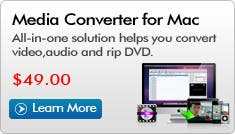 iFunia Media Converter Updated for Mac OS X Mountain Lion
