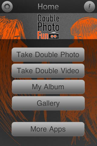 Double Photo Fun interface