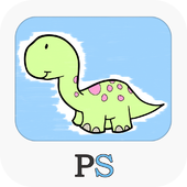pictus dinosaur - kids coloring book for all ages