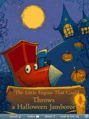 The most mysterious night of the year is coming! Get a new book The Little Engine That Could Throws a Halloween Jamboree  by XiMAD to feel the Halloween mood!!