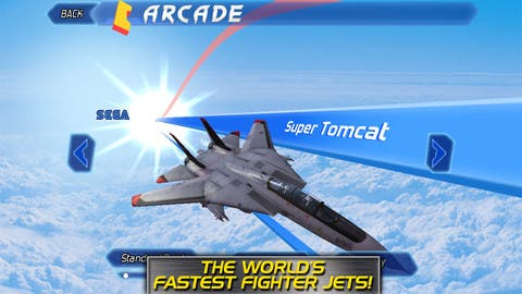 Siva's Game Reviews: After Burner Climax