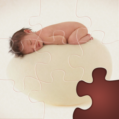 Meet the puzzle game with works of famous photographer Anne Geddes.