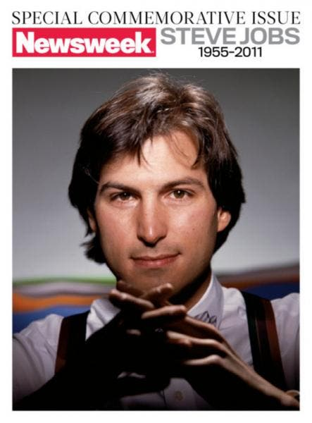 Newsweek Special Steve Jobs Commemorative Issue