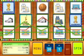 Play Physics Based Basketball Slots!