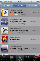 CamLingual ver1.0(iPhone app) is now No.1 in Finnish,Japanese AppStore / Just take a photo to translate