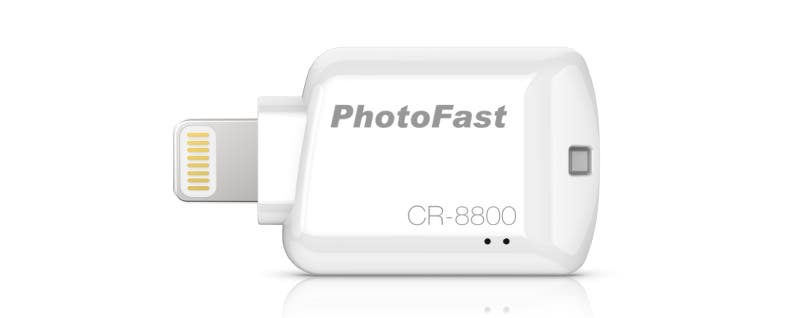 Expand Your iPhone's Storage with the iOS Card Reader