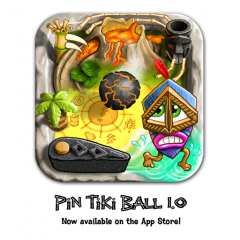 Operatio Apps Releases Pin Tiki Ball 1.0 - Universal App for iPad/iPhone