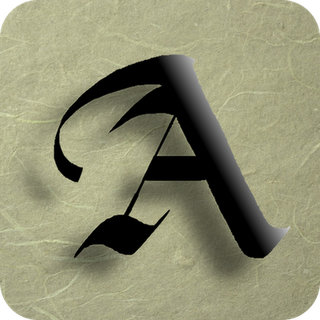 Discover The Secret Of Ancient Calligraphers On Your IPadThe Letter A In Different Styles