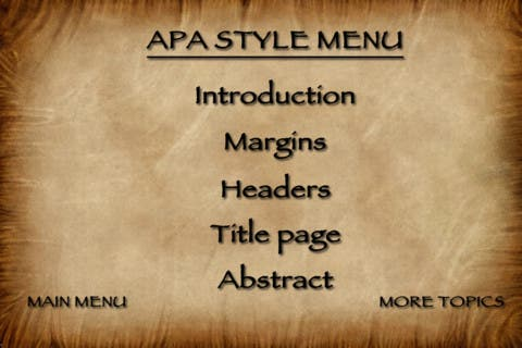 Style 101 for iOS- 20 Lesson Video Course Teaches Rules of APA Style