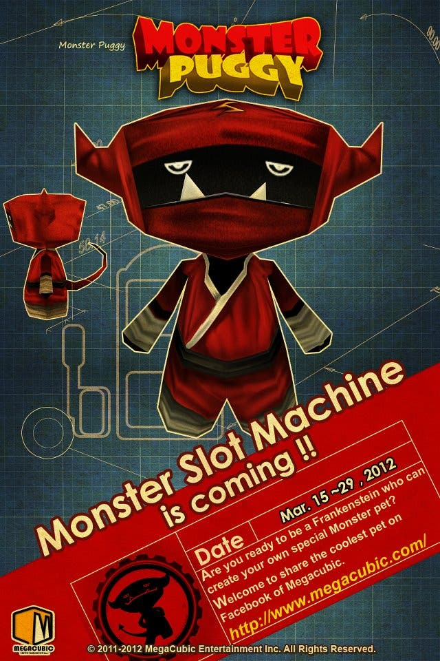 iOS Game Developer MegaCubic Holds the Monster Slot Machine Event. Dover