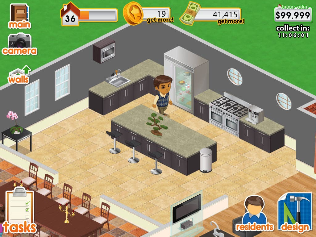 App minis to gross immensely with its ios social game design this home