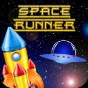 New iOS mobile game Space Runner blast! -Modern Day Galaga and Asteroids