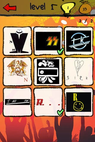 Band Logos Quiz 1.0 for iOS: Compete to Name Popular and Puzzling Icons
