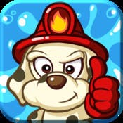 Mobile puzzle action fun heats up & you douse the blaze in Fire Busters