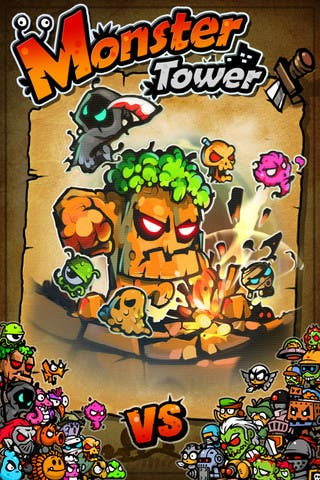 Take a Stand for Monster's Rights in Battle with Monster Tower for iOS